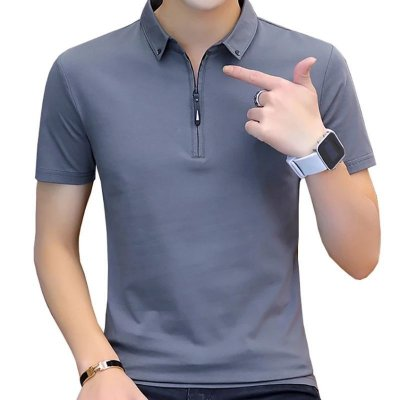 Camiseta Polo Zíper - 4 cores