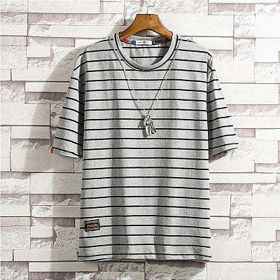 Camiseta Streetwear Listras - 4 cores