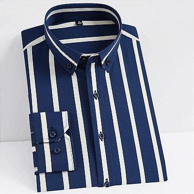 Camisa Estampada Listras - 6 cores