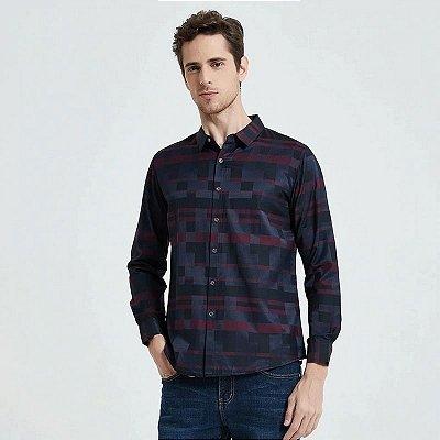 Camisa Manga Longa Tetris - 2 cores