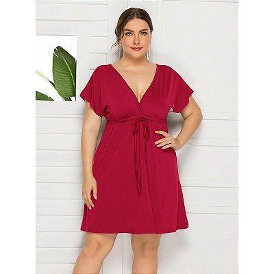 Vestido Soltinho Plus Size - 7 cores