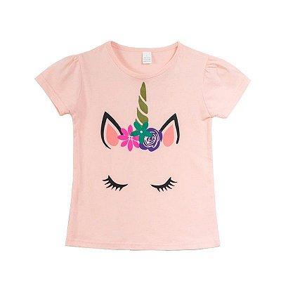 Blusa Unicórnio Princess - 3 cores