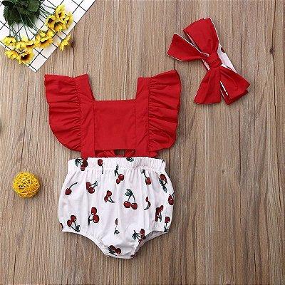 Body Red Cerejinhas