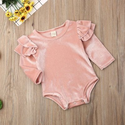 Body Infantil Velvet - 2 cores