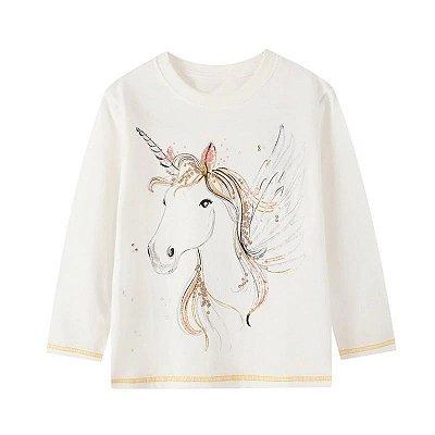 Blusa Unicorn White
