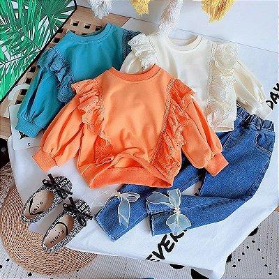 Blusa Detalhe Lese - 3 cores