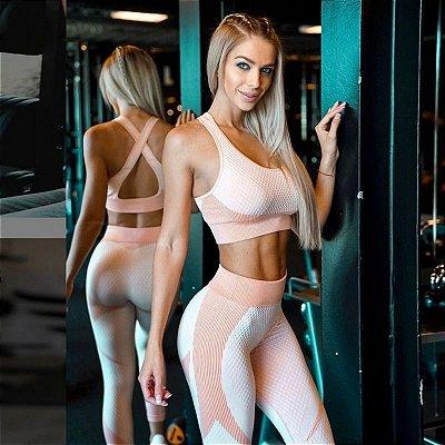Conjunto Fitness Bicolor - 2 cores