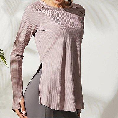 Blusa Canelada Gym - 3 cores