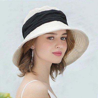 Chapéu de Praia Dobrável - 3 cores