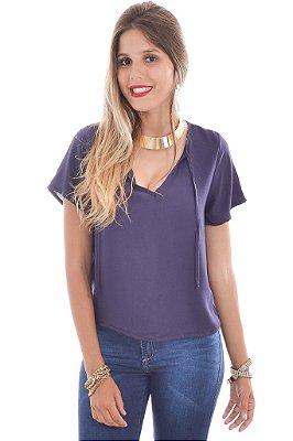 Blusa Crepe Lisa - 2 cores