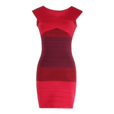 Vestido Bandagem Vermelho