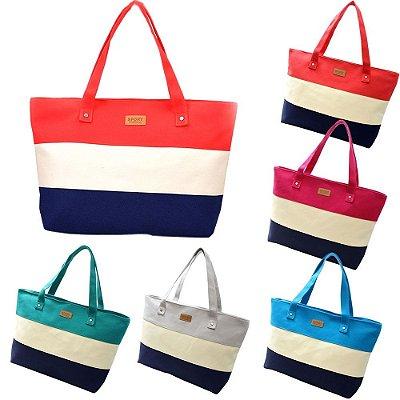 Bolsa Listrada - 5 cores