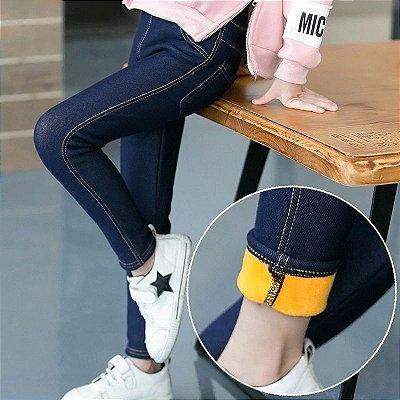 Calça Legging Jeans Infantil - 2 cores