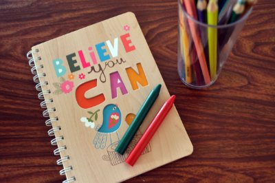 CADERNO A5 - BELIEVE YOU CAN