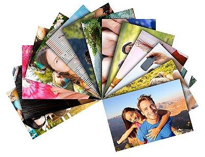 Revelação de fotos digitais (impressão 10x15cm)