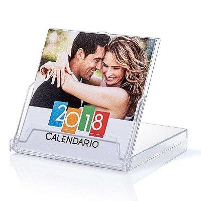 Foto calendários 2019 com caixa de acrílico
