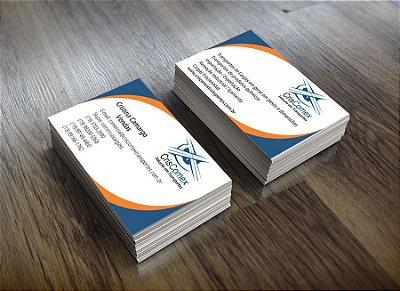 Cartões de visitas - 500 unidades