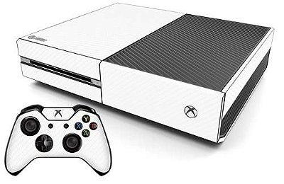 Skin Adesiva Fibra de Carbono - Xbox One