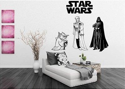 Adesivo de Parede - Star Wars