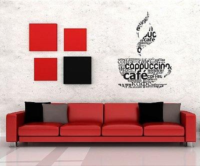 Adesivo de Parede - Café