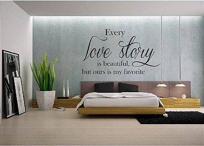 Adesivo de Parede - Love Story