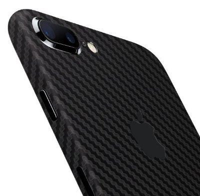 Skin iPhone 7 / Plus - Fibra de Carbono 3M