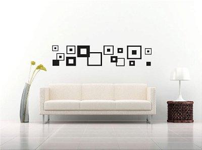 Adesivo de Parede - Quadrados Abstratos