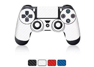 Skin Controle DualShock PlayStation 4 - Fibra de Carbono