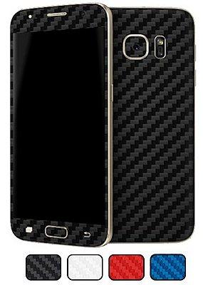 Skin Galaxy S7 - Fibra de Carbono