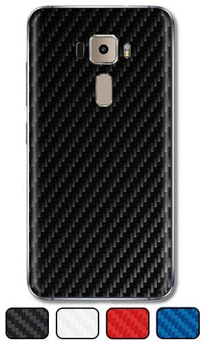 """Skin Zenfone 3 5.2"""" - Fibra de Carbono"""
