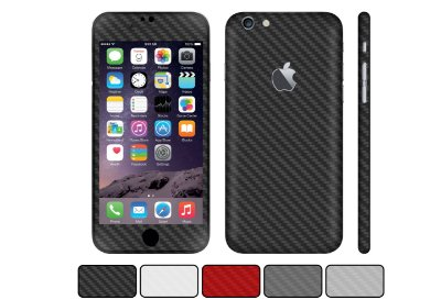 Skin iPhone 6 / 6S / Plus - Fibra de Carbono
