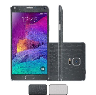 Skin Galaxy Note 4 - Couro