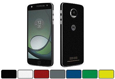 Skin Moto Z Play - Cores Foscas