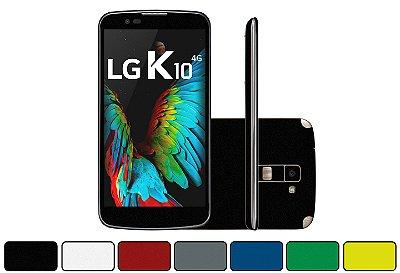 Skin LG K10 2016 - Cores Foscas