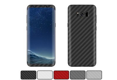 Skin Galaxy S8 Plus - Fibra de Carbono