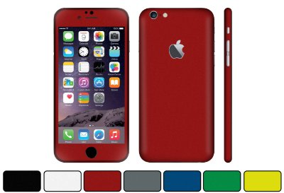 Skin iPhone 6 Plus - Cores Foscas