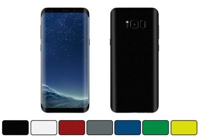 Skin Galaxy S8 Plus - Cores Foscas