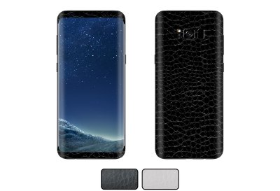 Skin Galaxy S8 - Couro