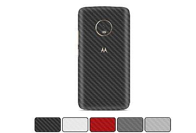 Skin Moto G5 - Fibra de Carbono