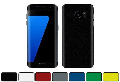 Skin Galaxy S7 Edge - Cores Foscas