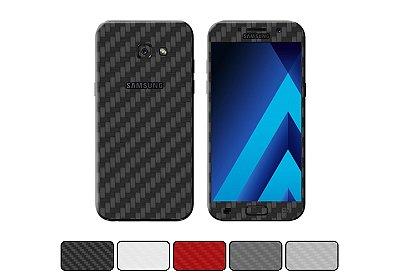 Skin Galaxy A5 2017 - Fibra de Carbono