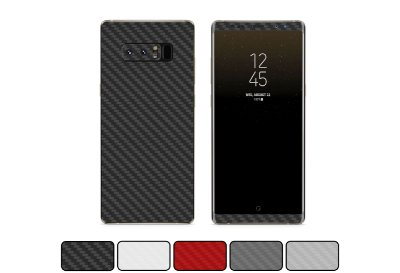 Skin Galaxy Note 8 - Fibra de Carbono