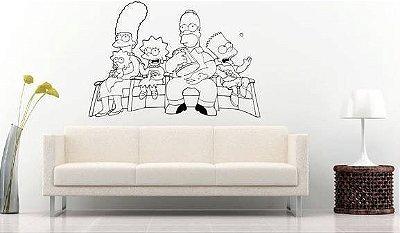Adesivo de Parede - Os Simpsons
