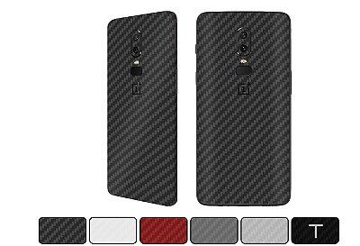 Skin OnePlus 6 - Fibra de Carbono