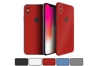 Skin iPhone X - Cores Foscas