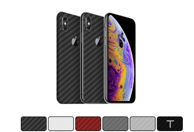 Skin iPhone XS - Fibra de Carbono