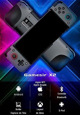 Controle Gamesir X2 Bluetooth Android / iOS - iPhone (MFi, Apple Arcade) / xCloud / STADIA / Game Pass
