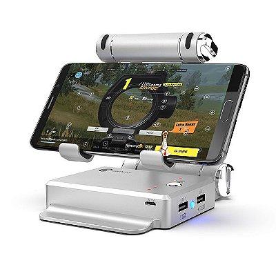 Estação Gamepad GameSir X1 BattleDock Conversor Para Mouse e Teclado Android e iOS