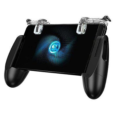 Gamesir F2 Suporte Dobrável Gamepad + Gatilhos L1 R1 Para Fortnite PUBG FPS Android & iOS