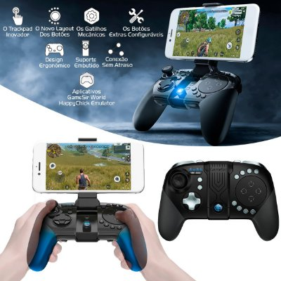 Controle Gamesir G5 Trackpad Touchpad Gamepad Bluetooth 5.0 Para MOBA FPS Android & iOS